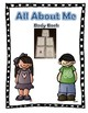 All About Me Theme, interactive books, My Body Book and All About Me Book,