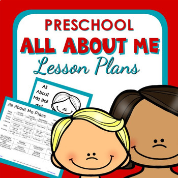 All About Me Theme Preschool Lesson Plans