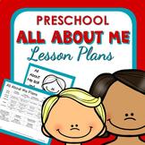 All About Me Theme Preschool Lesson Plans