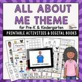 All About Me Theme for Preschool & Kindergarten