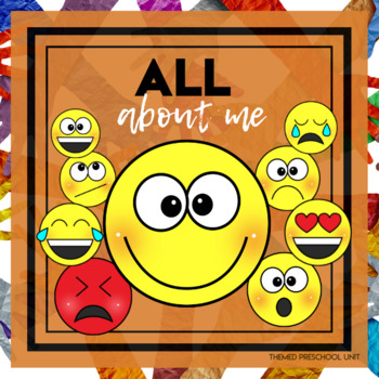 All About Me Themed Lesson Plans (one week)