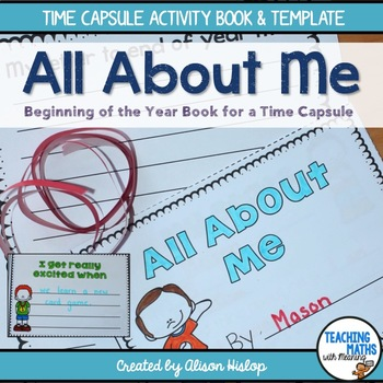 All About Me Time Capsule Activity