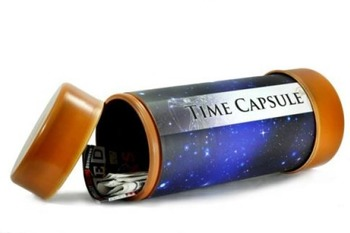 All About Me Time Capsule: First Week Idea
