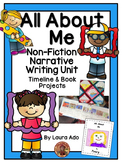 All About Me Timeline Book & Writing Unit