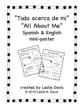 All About Me - Todo acerca de mi Mini-Poster
