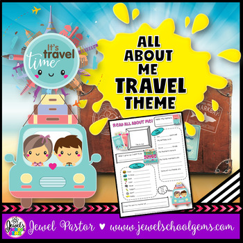 All About Me Travel Theme
