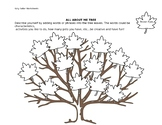 All About Me Tree