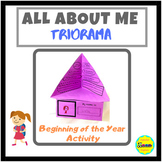 All About Me Triorama