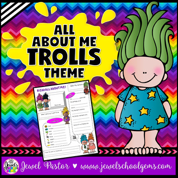 All About Me Trolls Theme