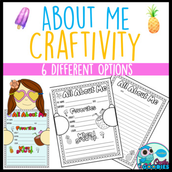 All About Me: Tropical Selfie - Craftivity