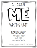 All About Me Unit