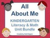 All About Me Unit Bundle