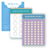 All About Me Unit Study | Preschool, Kindergarten, 1st | B