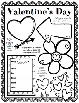 All About Me Valentine's Day Edition