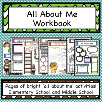 All About Me Workbook