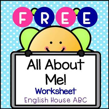 All About Me! - Worksheet