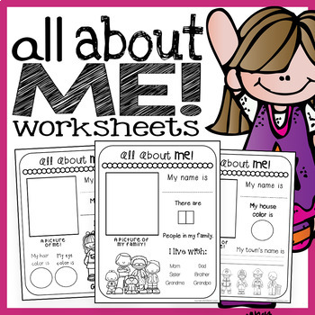 picture about All About Me Printable Worksheet referred to as All Pertaining to Me Worksheets
