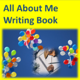 All About Me Writing Book--Practice-Assess-Progress Reporting