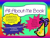 All About Me Writing Month-by-Month Editable Activity Packet