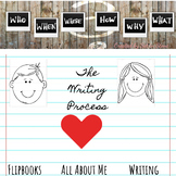 All About Me Writing Process Flip Book