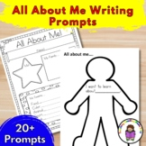 All About Me Writing Prompts