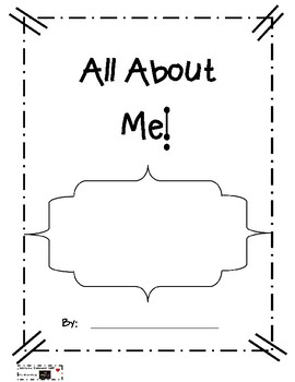 All About Me Writing Template