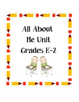 All About Me Writing Unit
