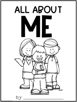 All About Me! {Writing Workbook}