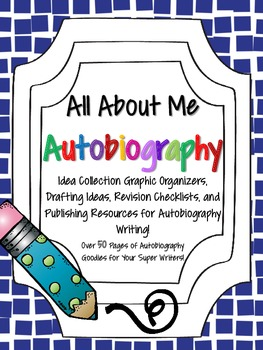 All About Me: Writing an Autobiography: Common Core Supported Writing Resources!
