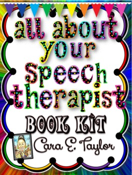 All About Me (Your Speech Therapist) Book Kit