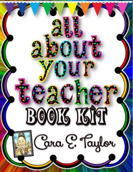 All About Me (Your Teacher) Book Kit
