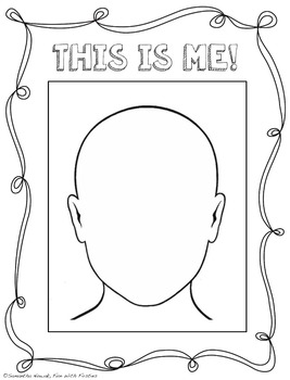 All About Me: a template to help your kiddies create their own autobiography