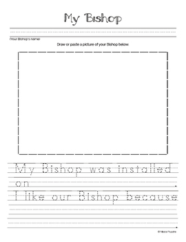 All About Me and Church Photo Book