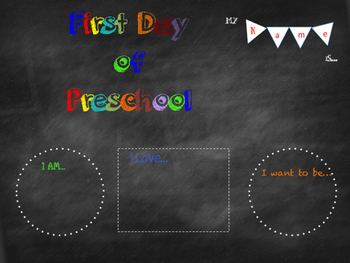 All About Me and First Day of School Pack 2