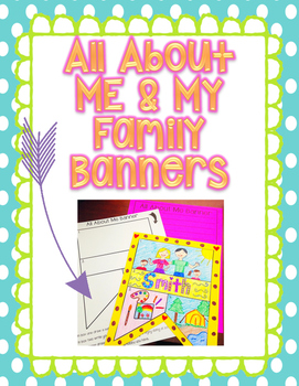 All About Me and My Family Banner Set