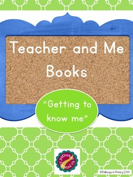 """All About Me"" book (Gr. K-1)"