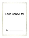 All About Me book - Libro Todo sobre mí