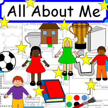 All About Me book and writing activities- Ourselves