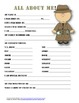 """All About Me"" detective themed student questionnaire"
