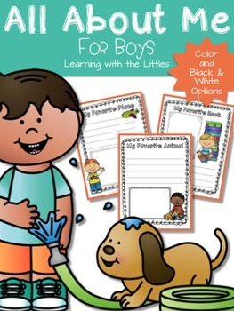 All About Me for Boys
