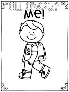 All About Me for Little Learners!