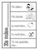 All About Me freebie flap book - GAEILGE/IRISH