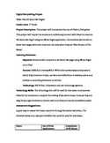All About Me iPad Pages Lesson Plan