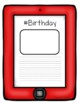 All About Me Cell Phone Flip Book- A Back to School Activity K-2