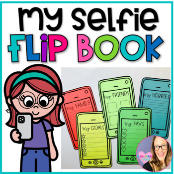 All About Me Cell Phone Flip Book- A Back to School Activity 3-6
