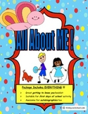 All About Me!  in ENGLISH. Great first days of school activity!