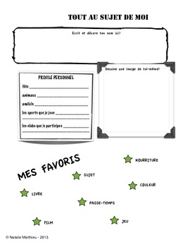 All About Me in French