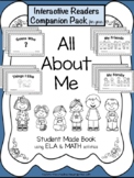 All About Me {interactive Readers-Companion Pack}