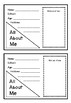 All About Me mini booklet