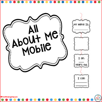 All About Me mobile